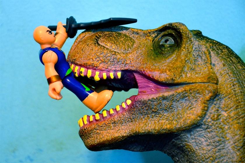 Pirate and Dinosaur