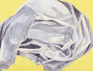 Colored Pencil Jean Jacket