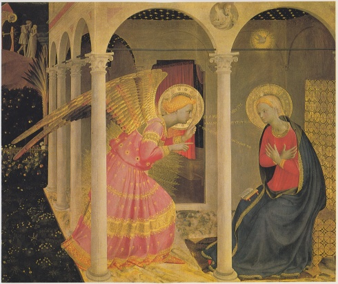 Fra Angelico's The Annunciation, Phaidon Press