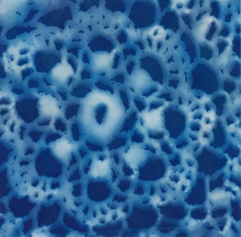 Lace Cyanotype