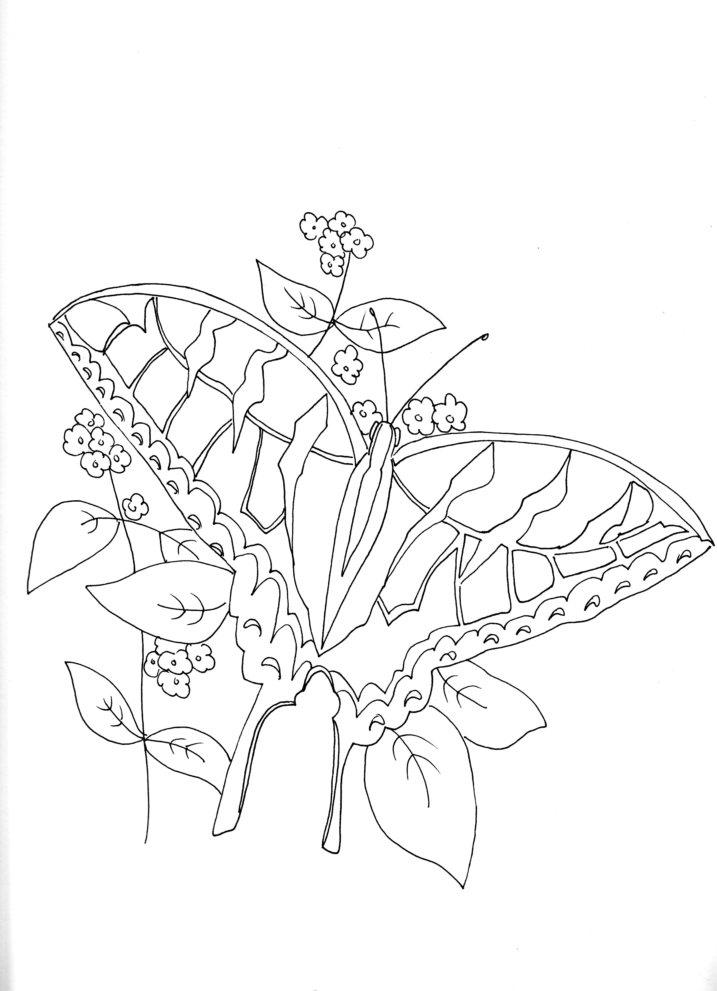 insect coloring pages camo - photo#6